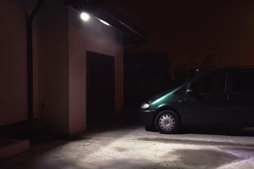 Oświetlenie solarne - lampa LED SLC-09