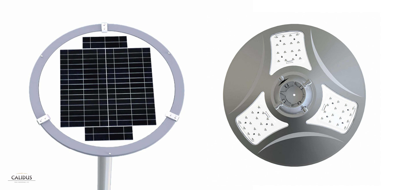Solarna latarnia uliczna SLC - 900RP