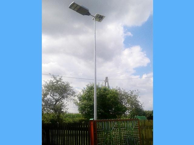 Realzacja dla Gminy Susz - Latarnie Solarne LED marki Calidus
