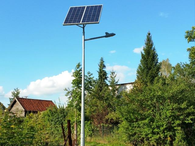 Realizacja dla Gminy Purda - Latarnie Solarne LED CSL-820