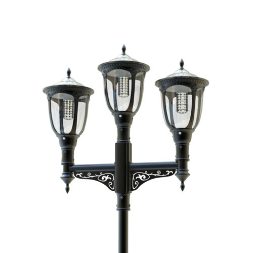 SOLARNA latarnia uliczna trójramienna SLC 1100LL 12,5W LED