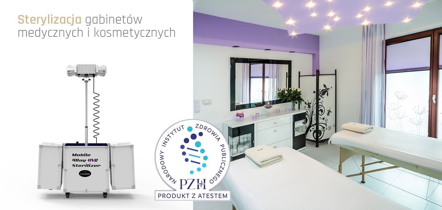 Mobilny sterylizator UVC