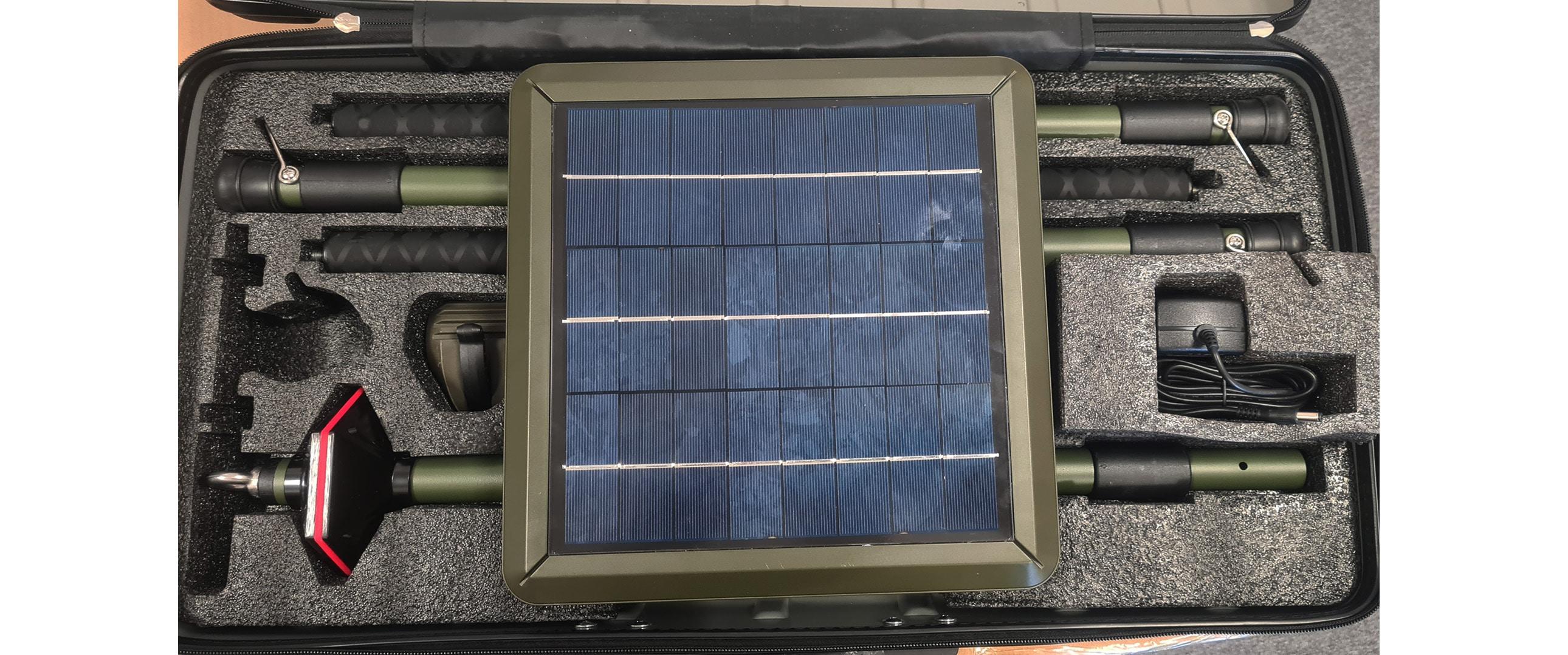 Solarna lampa plenerowa