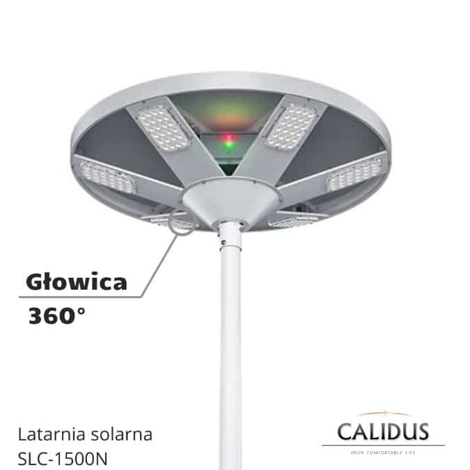Latarnia Solarna SLC-1500N